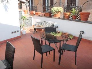 Terraced in Trastevere, Roma