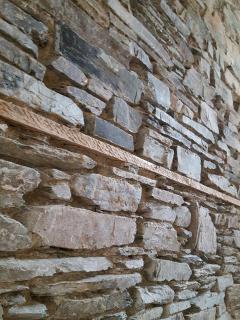 Listed building - original stonework