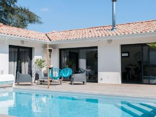 Villa au calme avec piscine à 10 mn de la côte, Benesse-Maremne