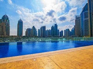 Acacia, 2BR with Amazing Marina View, Dubái
