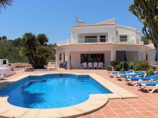 Villa Bellavista con vistas fantasticas al mar !, Benissa
