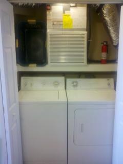 2 Full Laundry on first floor studio unit