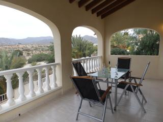 LIM03- 3 Bed villa,private pool,Isla Plana, Registered with Murcia Tourist Board