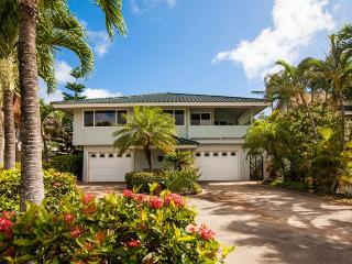Daydream Believer, Sleeps 15, Spacious 4-bedroom home in Poipu, lovely yard, lanai with BBQ, short walk to beaches. Sleeps 15, Koloa
