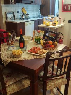aperitivo di benvenuto