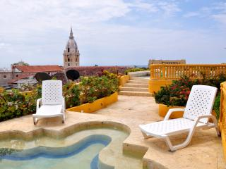 Exclusive two Bedroom apartment in the Old City, Cartagena