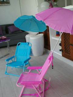 Sun chairs for children