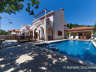 Charming villa Zaton for 10 people