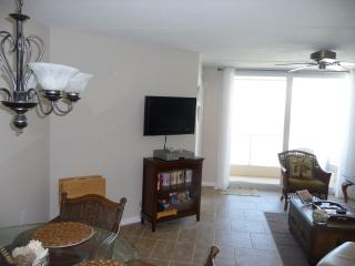 Flat Screen for sitting area - condo has upgraded internet and cable package.