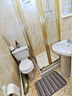 Single room ensuite toilet