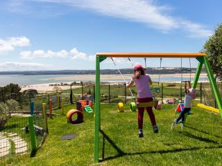 The paradise for your kids, playing looking out to gorgeous views