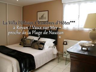 CHAMBRES D'HOTES A 10 MN A PIED DE LA PLAGE, Vaux-sur-Mer