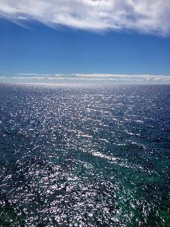 herrliches Meer mit glasklarem Wasser