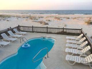 Gulf front duplex with POOL! 4 bedrooms/3 baths!