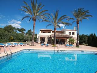 Finca 3 Palms - sea view villa with private pool in Benissa