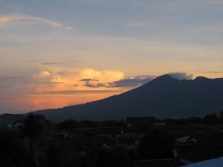 Mombacho Volcano at dusk
