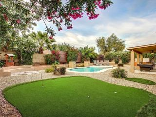 Beautiful mature yard with new putting green.