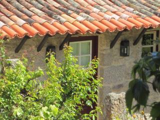 A house and a garden facing the mountain