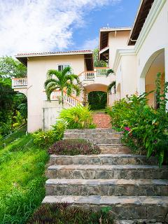 Surrounding grounds and stairs to pool