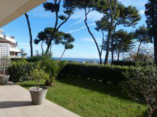 Appt 2 pièces avec  terrasse et jardin Piscine