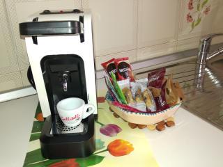 Angolo caffè espresso. Gratuito
