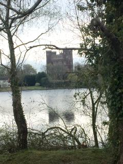 View of Tattershall Castle from the Lodge