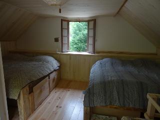Chambre grange 1 (quasi identique grange 2)