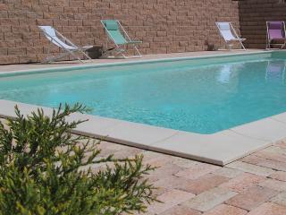 Casa 'limone' collina con piscina vicino  mare