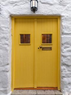 The original Yellow Door