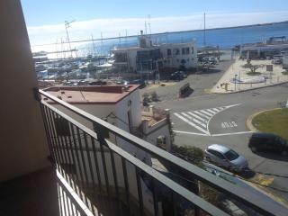 Appartement premiere ligne vue mer, catalogne, L'Ampolla