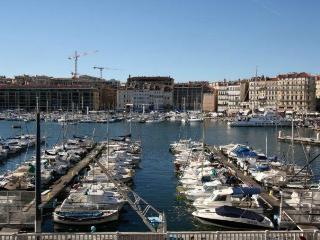 Vue sublime sur le Vieux Port, Marseille