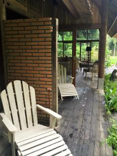 bedrooms' deck