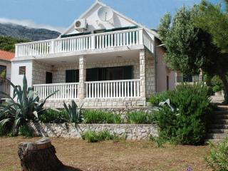 Villa with apartments on Dalmatian coast, Croatia, Orebic