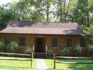 Shenandoah Dreaming Riverfront Log Cabin, Luray