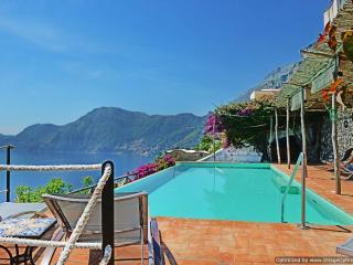 Villa Poeti Praiano villa rental with pool