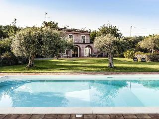 Villa Rosalia holiday vacation large villa rental italy, sicily, near catania