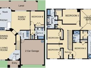 Windsor Hills - Pool Home 6BD/4BA - Sleeps 12 - Gold - RWH617, Four Corners