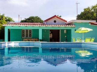 Casa Verde - La Havana, Cuba. At beach, with pool.