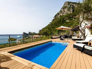 NE145- Beautiful Villa! swimming pool, BBQ & Sea view!, Nerano