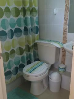 Dos baños.