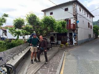 Piso en caseron con terraza en el centro, Vera de Bidasoa