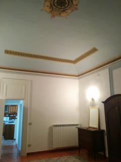 stanza da letto principale-dettaglio del soffitto
