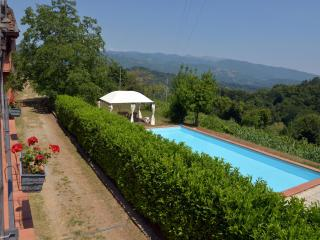 Farmhouse, beautiful terrace & views, pool, WIFI.., Camporgiano