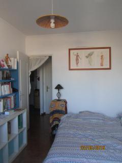 Chambre 2 avec canapé-lit ouvert