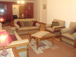 Modern large apartment over looking a garden, El Cairo