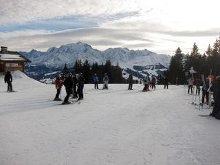 Combloux ski slopes