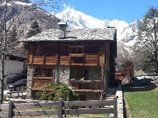 Chalet padronale posizione incantevole Monte Bianc