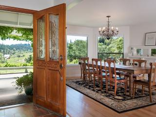 Unsurpassed Views on a 3-Acre Vineyard Estate, Sebastopol