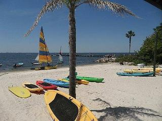 vacation rental  Beachfront Condo, Tampa
