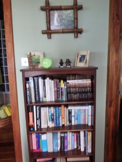 Fully loaded book shelf!